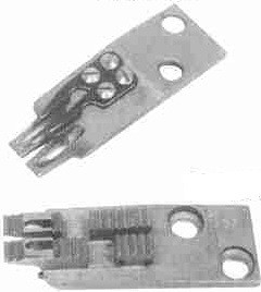 "Product - DOUBLE NEEDLE FEED DOG 1/2 "" 267812-032( 267812-1/2 ) FOR SINGER 300W SINGER 302U SINGER 302W SINGER 320W (267812-032)"