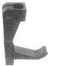 LIFTING PRESSER FOOT 1/2 GAUGE ( OUTSIDE FOOT ) 267677-032 FOR SINGER 300W203 (267677-032)