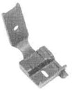 "Copy a Product - 1/4"" COMPENSATING EDGE GUIDE FEET S569 1/4 FOR SINGER 111G 111W 211G 211U 211W (S569 1/4)"