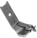 Product - TOP STITCH FOOT WITH SPRING EDGE GUIDE S568 3/16 FOR SINGER 111G 111W 211G 211U 211W (S568 3/16)