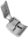 Product - HINGED WELTING FOOT WITH BACK CUTOUT FOR SEWING AROUND CORNERS S561 1/4 FOR SINGER 111G 111W 211G 211U 211W (S561 1/4)