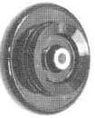 """Product - ALUMINUM HANDWHEEL (5.25"""" OD) 240545 FOR SINGER 111W (240545)"""