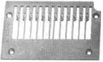 "Product - NEEDLE PLATE 14-496 1/4"" GAUGE 12 NEEDLES FOR KANSAI DFB 1412 (14-496)"