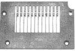 Product - NEEDLE PLATED14-497 (12 NEEDLE-3/16) FOR KANSAI DFB 1412  (14-497)