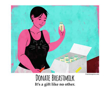 Free Donate Breastmilk posters