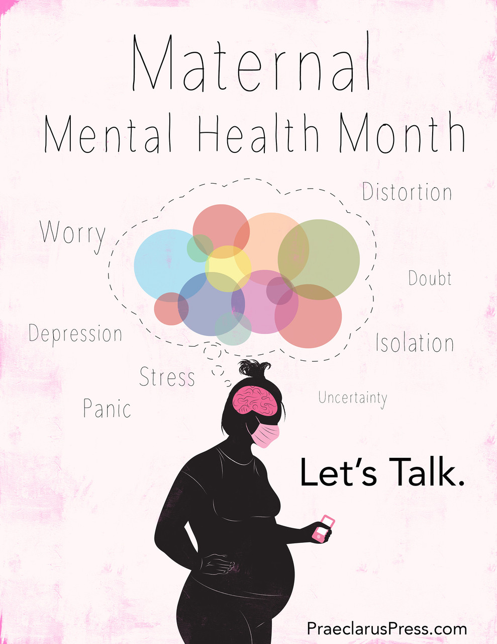Free Downloadable Poster Maternal Mental Health Month 2020 Praeclaruspress