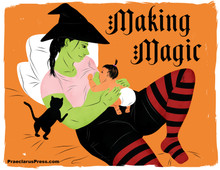 Free downloadable poster-Making Magic