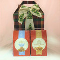 Plaid Holiday Sweet & Savory Tote