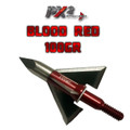 PX2 Broadheads,3 Pack, 100 grains