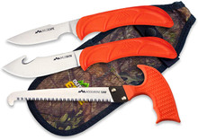 Outdoor Edge WildGuide, 4-Piece Hunting Knife/Saw Combo Set