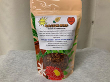 Use this for a great topping for salads, added flavor in soups, or dips. Great tasting vegan product goes a long way! One bag will hydrate to one pound.
