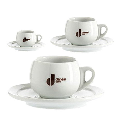 Danesi Caffe Latte Cup Set by Italian Bean Delight