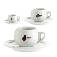 Danesi Caffe 2 x Latte Cup / Saucer Free Shipping