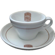 Il Caffe Manaresi Cappuccino Cup and Saucer