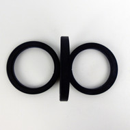 Filter Holder Gasket High Quality ECM 72x57x8.5 mm flat 3 ct