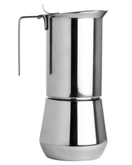 Coffee Espresso Maker Moka Pot Ilsa Turbo Stovetop Express SS