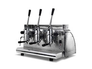 3-group Lever Espresso Coffee Machine Victoria Arduino Athena Chrome