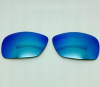 Custom Arnette Rage XL 4077  Grey w/ Blue Mirror Coating Polarized Lenses