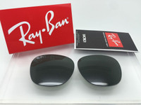 Authentic Ray Ban RB 3016 Clubmaster Green Glass Lenses Size 51