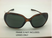 Custom Oakley Overtime Black Polarized Lenses (lenses are sold in pairs)