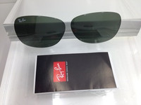 Authentic Rayban RB 2132 New Wayfarer Glass G-15 Green Lenses SIZE 55