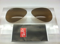 Rayban 3025 Aviator Authentic Brown Glass Lenses SIZE 55
