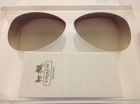 Coach Kristina HC 7003 Authentic Brown Gradient Lenses Non-Polar