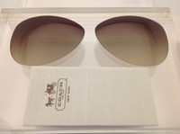 Coach Kristina HC 7003 Authentic Brown Gradient Lenses Polarized