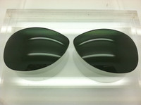 Custom Rayban RB 3267 Size 64 Custom Made Green/Grey G-15 Lenses Polarized (lenses are sold in pairs)