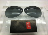 Authentic Rayban RB 3293 & 3386 Grey Gradient Polycarbonate Lenses Size 67