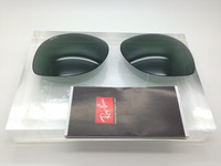 Authentic Rayban RB 3387 Green G-15 Replacement Lens Pair Size 64