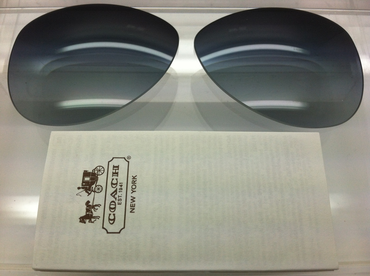 1c4c020f445 ... Authentic Coach Kristina HC 7003 Grey Gradient Lenses Polarized. Image  1. Loading zoom