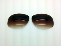 Custom Rayban RB 3387 SIZE 64 Brown Gradient Non-Polarized Lens Pair