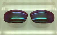 Harpoon aftermarket custom lens - Green Reflective over amber Lens - Polarized (lenses are sold in pairs)