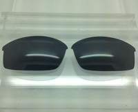 Rayban RB4039 Aftermarket Custom made Black/Grey Polarized Lenses (lenses are sold in pairs)