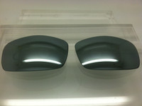 Custom Cooper Silver Mirror Polarized Lenses (lenses are sold in pairs)