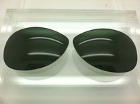 Custom Rayban RB 3267 Size 69 Custom Made Green/Grey G-15 Lenses Polarized (lenses are sold in pairs)