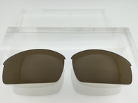 Aftermarket Custom Oakley Bottle Cap Replacement lenses Bronze/Brown Polarized Lens HIGH CLARITY Bottlecap