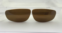 Custom made aftermarket lenses compatible with Maui Jim Kahuna 162 Bronze Polarized +2.00 BI-FOCAL READER (lenses are sold in pairs)