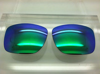 Custom Holbrook Grey with Green Mirror Non-Polarized Lenses
