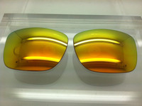 Custom VZ Elmore Orange Mirror Polarized Lenses (lenses are sold in pairs)