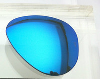 Authentic Rayban 3025 Aviator Bright Blue Mirror Coating SIZE 55 LEFT SIDE LENS ONLY