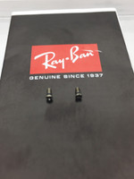 Authentic Rayban 3025 / Aviator Temples or Rim Replacement screws Silver