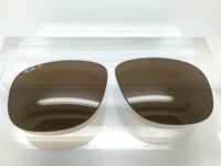 Authentic Rayban RB 4147 SIZE 60 Brown Glass POLARIZED Lenses