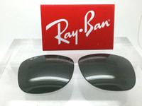 Authentic Rayban 2140 Original Wayfarer Glass G-15 Green Non-Polarized Lenses SIZE 54