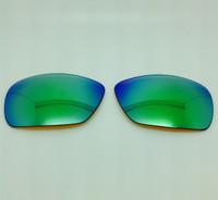 Arnette Shaft 4022 - Custom Grey with Green Mirror Polarized Lens Pair
