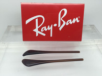 Authentic Rayban Ear Socks / Temple Tips for RB 3025 Aviator Brown