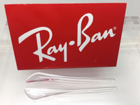 Authentic Rayban Ear Socks / Temple Tips for RB 3174 Aviator Clear