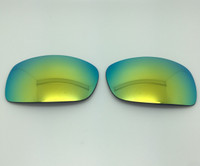 MJ Peahi 202 - Aftermarket Custom GLASS  replacement lens set -  DARK GREY with Yellow/gold Reflective Front- Polarized with backside AR Coating PROFESSIONAL INSTALLATION IS REQUIRED - PLEASE READ ITEM DESCRIPTION BEFORE PURCHASE