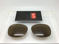 Authentic Rayban RB 2132 New Wayfarer Glass Brown  Polarized Lenses SIZE 55